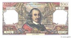 100 Francs CORNEILLE FRANCE  1966 F.65.11 SUP+