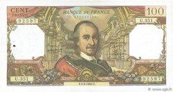 100 Francs CORNEILLE FRANCE  1968 F.65.23 TTB+