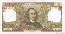 100 Francs CORNEILLE FRANCE  1970 F.65.31 pr.TTB