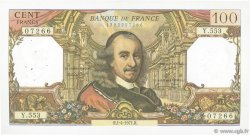 100 Francs CORNEILLE FRANCE  1971 F.65.35 TTB