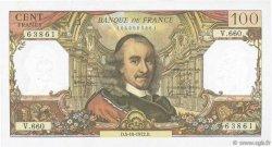 100 Francs CORNEILLE FRANCE  1972 F.65.40 TTB