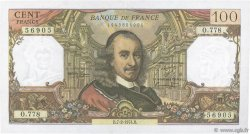 100 Francs CORNEILLE FRANCE  1974 F.65.45 SUP