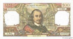 100 Francs CORNEILLE FRANCE  1975 F.65.50 TTB+