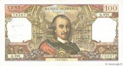 100 Francs CORNEILLE FRANCE  1976 F.65.54 TB+