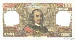 100 Francs CORNEILLE FRANCE  1976 F.65.55 SUP à SPL