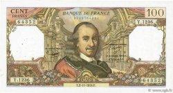 100 Francs CORNEILLE FRANCE  1978 F.65.64 TTB