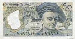 50 Francs QUENTIN DE LA TOUR FRANCE  1976 F.67.01 TTB+