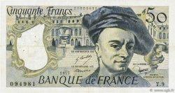 50 Francs QUENTIN DE LA TOUR FRANCE  1977 F.67.02 TB