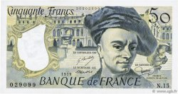 50 Francs QUENTIN DE LA TOUR FRANCE  1979 F.67.04 SUP