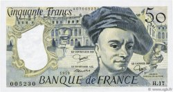 50 Francs QUENTIN DE LA TOUR FRANCE  1979 F.67.05 SUP