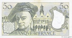 50 Francs QUENTIN DE LA TOUR FRANCE  1981 F.67.07 TTB+