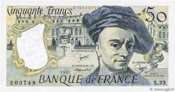 50 Francs QUENTIN DE LA TOUR FRANCE  1981 F.67.07 SPL+