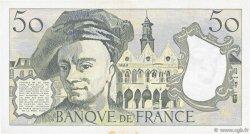 50 Francs QUENTIN DE LA TOUR FRANCE  1981 F.67.07 TTB