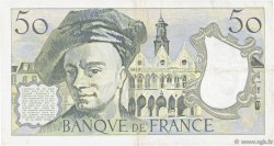 50 Francs QUENTIN DE LA TOUR FRANCE  1983 F.67.09 TTB