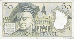 50 Francs QUENTIN DE LA TOUR FRANCE  1984 F.67.10 TTB