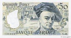 50 Francs QUENTIN DE LA TOUR FRANCE  1987 F.67.13 SPL+