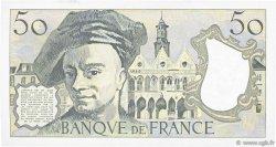 50 Francs QUENTIN DE LA TOUR FRANCE  1987 F.67.13 pr.SPL