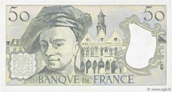 50 Francs QUENTIN DE LA TOUR FRANCE  1989 F.67.15 TTB+