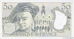 50 Francs QUENTIN DE LA TOUR FRANCE  1989 F.67.15 SPL