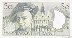 50 Francs QUENTIN DE LA TOUR FRANCE  1990 F.67.16 SPL