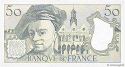 50 Francs QUENTIN DE LA TOUR FRANCE  1990 F.67.16 SUP