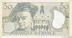 50 Francs QUENTIN DE LA TOUR FRANCE  1990 F.67.16 TTB