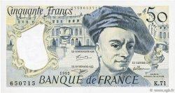 50 Francs QUENTIN DE LA TOUR FRANCE  1992 F.67.18 SUP