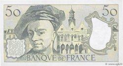 50 Francs QUENTIN DE LA TOUR FRANCE  1992 F.67.18 TTB
