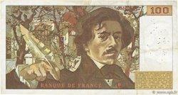 100 Francs DELACROIX FRANCE  1978 F.68.01 TB+