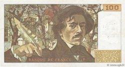 100 Francs DELACROIX FRANCE  1978 F.68.02 TB+