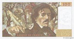 100 Francs DELACROIX FRANCE  1978 F.68.03 SPL+