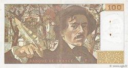100 Francs DELACROIX modifié FRANCE  1978 F.69.01a TTB