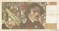 100 Francs DELACROIX modifié FRANCE  1978 F.69.01c TB