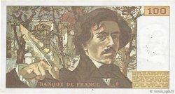 100 Francs DELACROIX modifié FRANCE  1978 F.69.01d TTB