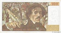 100 Francs DELACROIX modifié FRANCE  1978 F.69.01f TTB