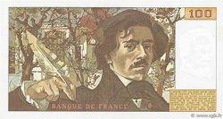 100 Francs DELACROIX modifié FRANCE  1978 F.69.01g SUP+