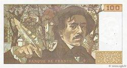 100 Francs DELACROIX modifié FRANCE  1978 F.69.01g TTB