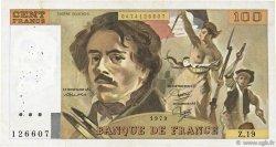 100 Francs DELACROIX modifié FRANCE  1979 F.69.03 TB+