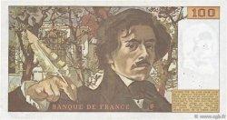 100 Francs DELACROIX modifié FRANCE  1979 F.69.03 TTB