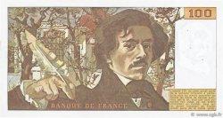 100 Francs DELACROIX modifié FRANCE  1980 F.69.04 TTB+