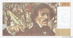 100 Francs DELACROIX modifié FRANCE  1980 F.69.04a SUP