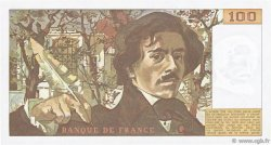 100 Francs DELACROIX modifié FRANCE  1980 F.69.04b pr.NEUF