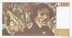 100 Francs DELACROIX modifié FRANCE  1981 F.69.05 NEUF