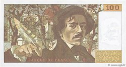 100 Francs DELACROIX modifié FRANCE  1981 F.69.05 SUP