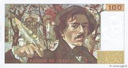 100 Francs DELACROIX modifié FRANCE  1983 F.69.07 SUP