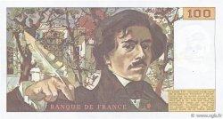 100 Francs DELACROIX modifié FRANCE  1984 F.69.08a