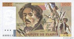 100 Francs DELACROIX modifié FRANCE  1984 F.69.08a TTB