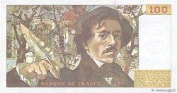 100 Francs DELACROIX modifié FRANCE  1986 F.69.10 TTB+