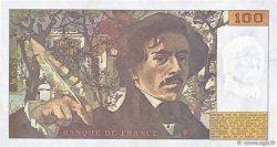 100 Francs DELACROIX imprimé en continu FRANCE  1990 F.69bis.02a SUP
