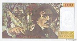 100 Francs DELACROIX imprimé en continu FRANCE  1990 F.69bis.02b TTB+